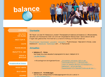 Therapiezentrum Balance - Logo