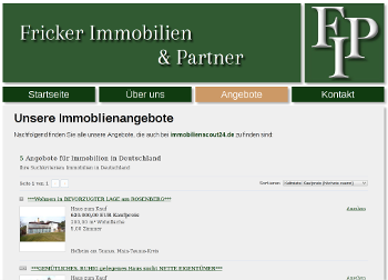 Fricker Immobilien & Partner - Logo